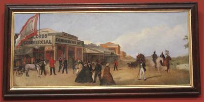 Pall Mall from Bull Street, c.1860