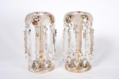 Transparent Lustre Vases