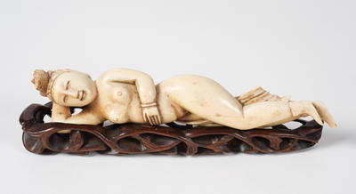 Medicine Figure of a Woman, with base