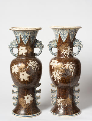 pair of tall vases