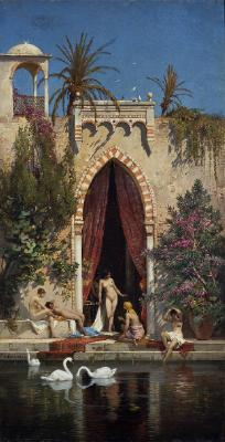 Ladies of the Harem Bathing