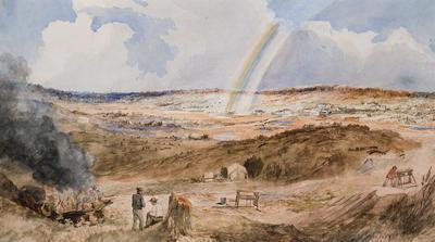 The end of the Rainbow, Golden Square, Bendigo